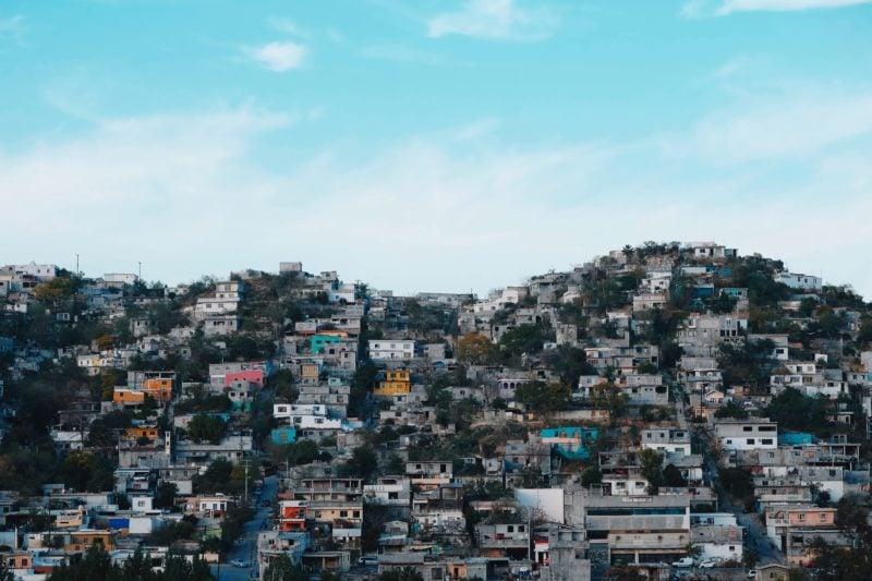 メキシコの丘