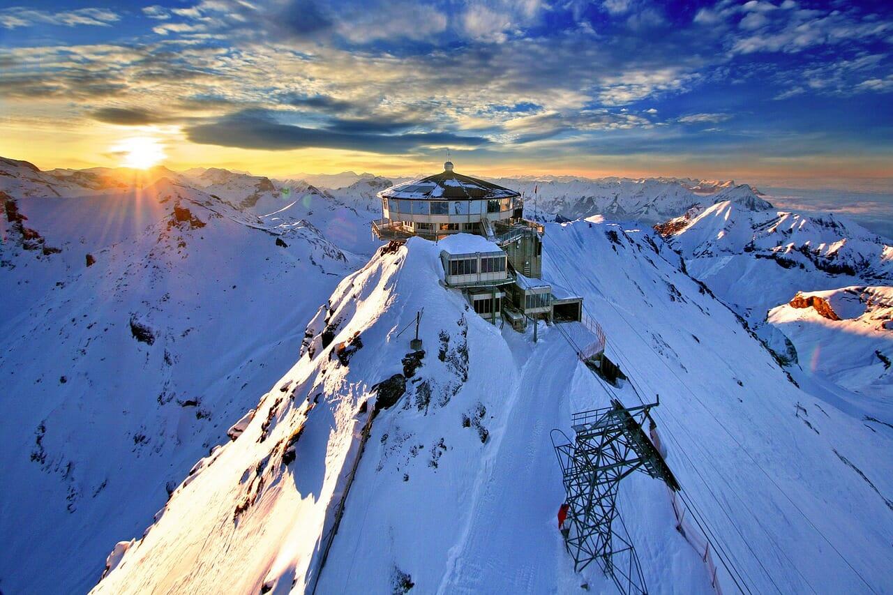 アベンジャーズ冬山